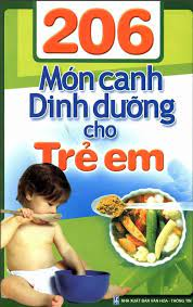 206 món canh dinh dưỡng cho trẻ em